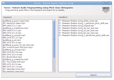 Audio Fingerprinting Query