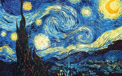 The Starry Night, by Van Ghogh - Original